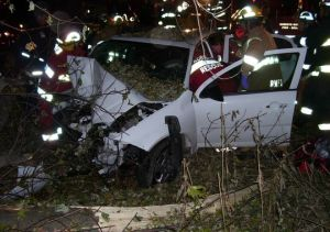 Amy Rademaker and Natasha Weigel were killed in this 2006 car accident in Wisconsin. Their accident is one of several that has led to the GM recall of many Cobalts. (Photo: Hilliard Munoz Gonzales LLP)
