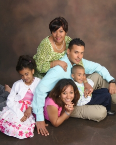 Fernando Bermudez was exonerated in 2009. In this family photo, he poses with his wife, Crystal Bermudez, and their children. He has received no compensation after being wrongfully imprisoned for 18 years. (Photo: Family handout)